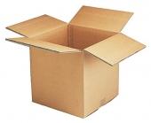 Bølgepap kasser i brun eller hvid