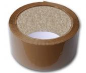 Brun pakketape